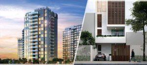 Tiện ích của nhà đất hay nhà chung cư sẽ vượt trội hơn