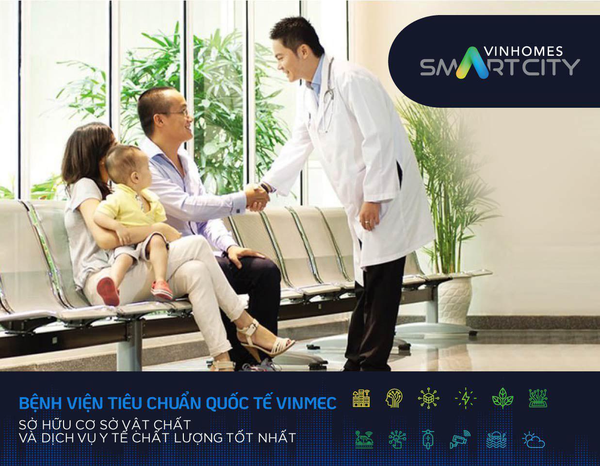 Bệnh Viện Vinmec Tại Vinhomes Smart City