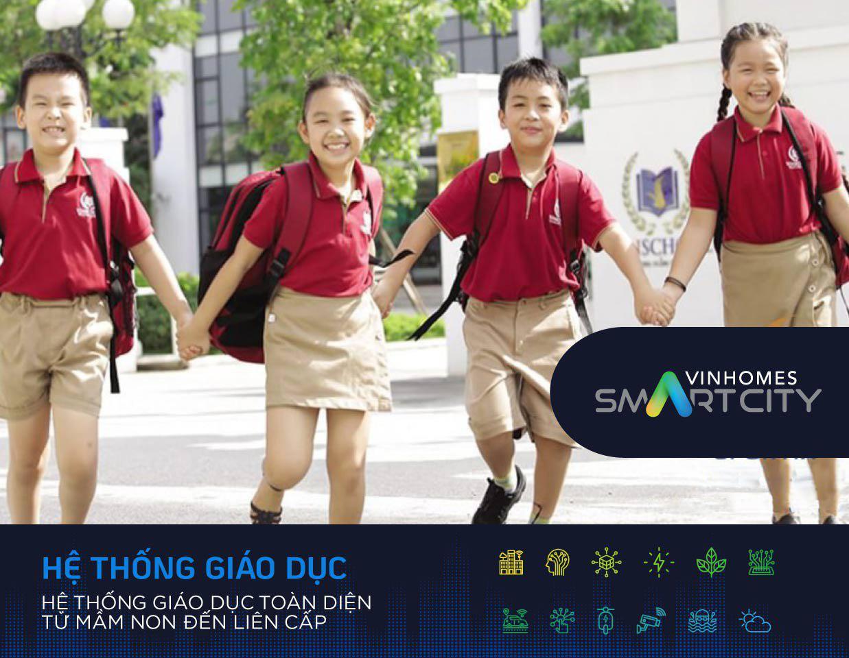 Hệ thống giáo dục tại Vinhomes Smart City