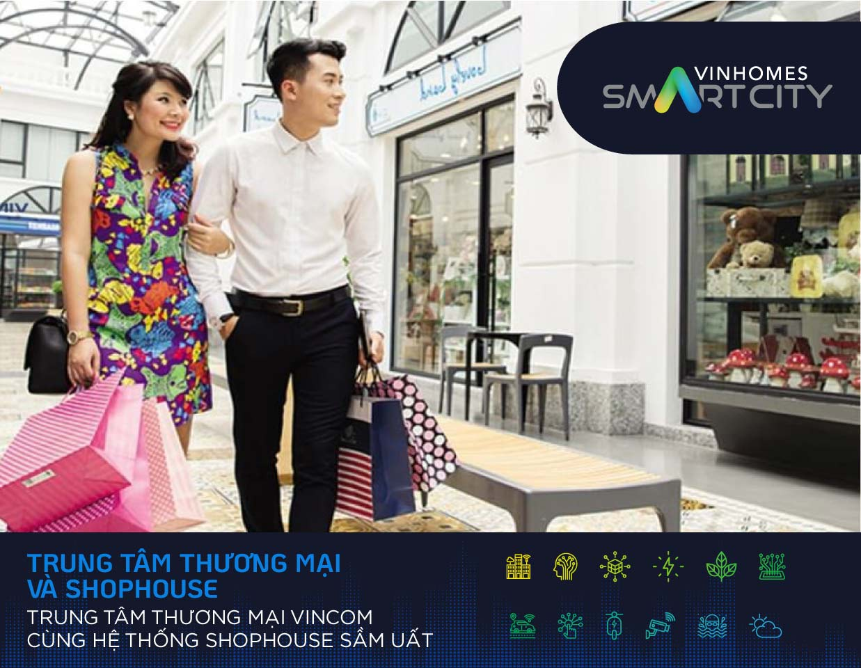 Tiá»n Ãch Mua Sắm Tại Vinhomes Smart City