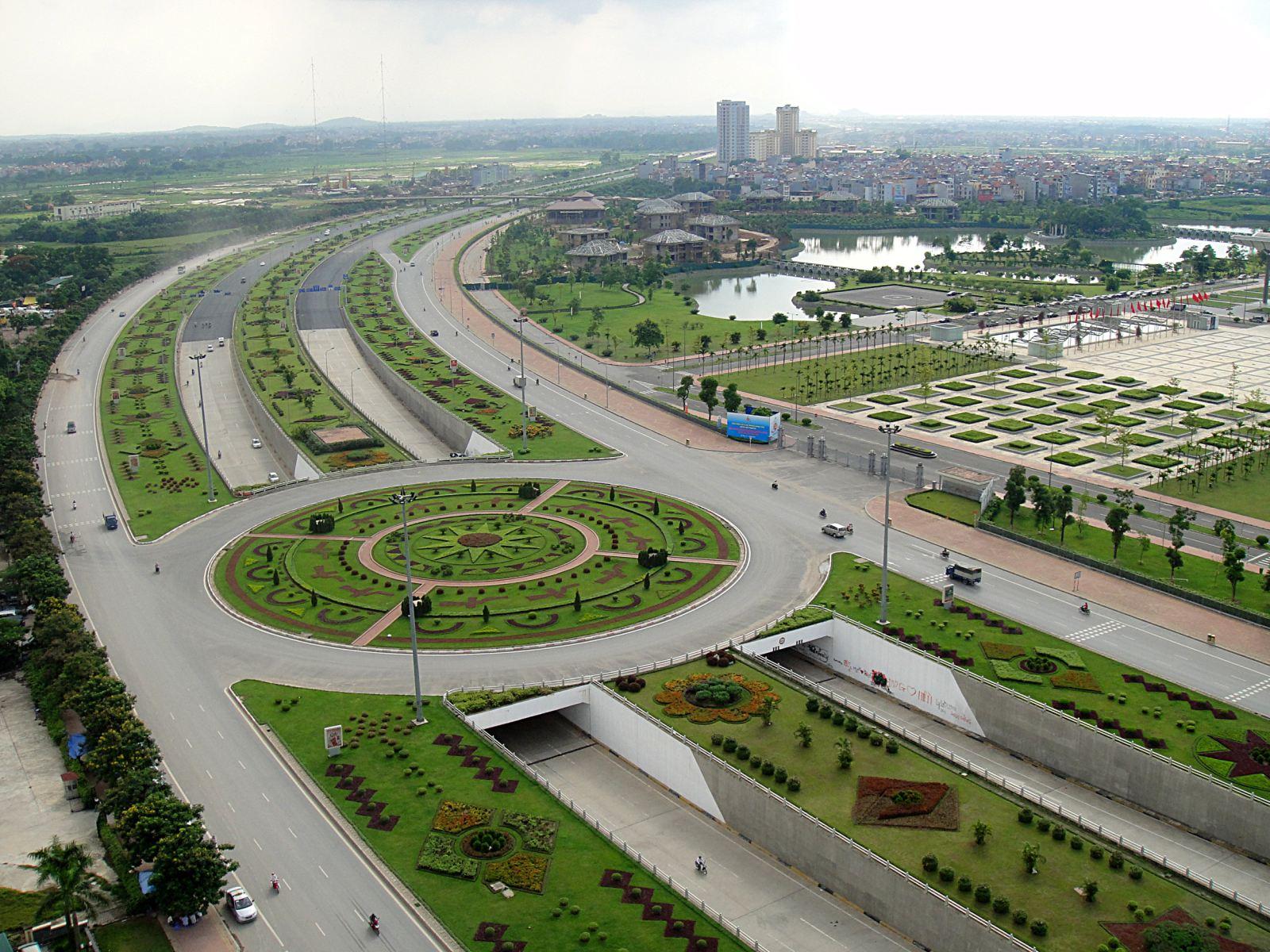 Vị trí đắc địa giúp Vinhomes Smart City được thừa hưởng hệ thống cơ sở hạ tầng đồng bộ, hiện đại tại khu vực phía Tây