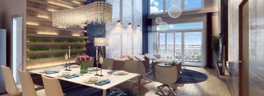 Dòng căn hộ cao cấp Vinhomes Diamond xuất hiện tại Vinhomes Smart City trước đó đã có mặt tại dự án Vinhomes Metropolis (ảnh minh hoạ)