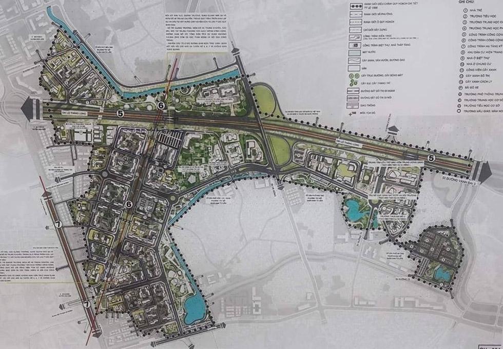 Bản đồ quy hoạch vinhomes smart city