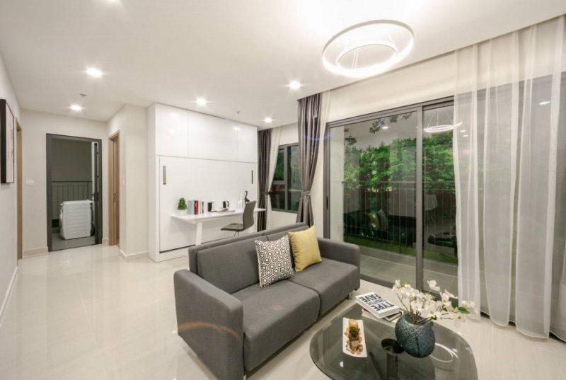 Căn hộ mẫu 1 phòng ngủ tại Vinhomes Smart City