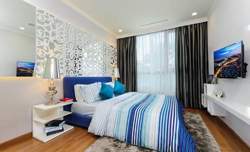 Hình ảnh căn hộ mẫu 1 phòng ngủ tại Vinhomes Smart City