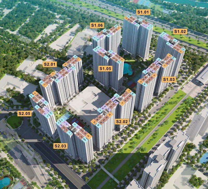 Tổng quan về toà H5 Vinhomes Smart City (S1.05)