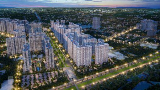 Hình ảnh toàn cảnh dự án Vinhomes Smart City