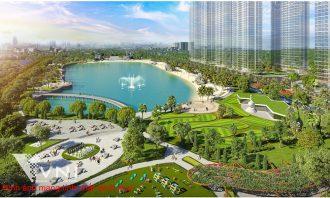 Công viên trung tâm rộng 10,2 ha với 15 công viên chủ đề đặc sắc tại Vinhomes Smart City