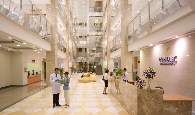 Bệnh viện đa khoa quốc tế Vinmec tại Vinhomes Smart City