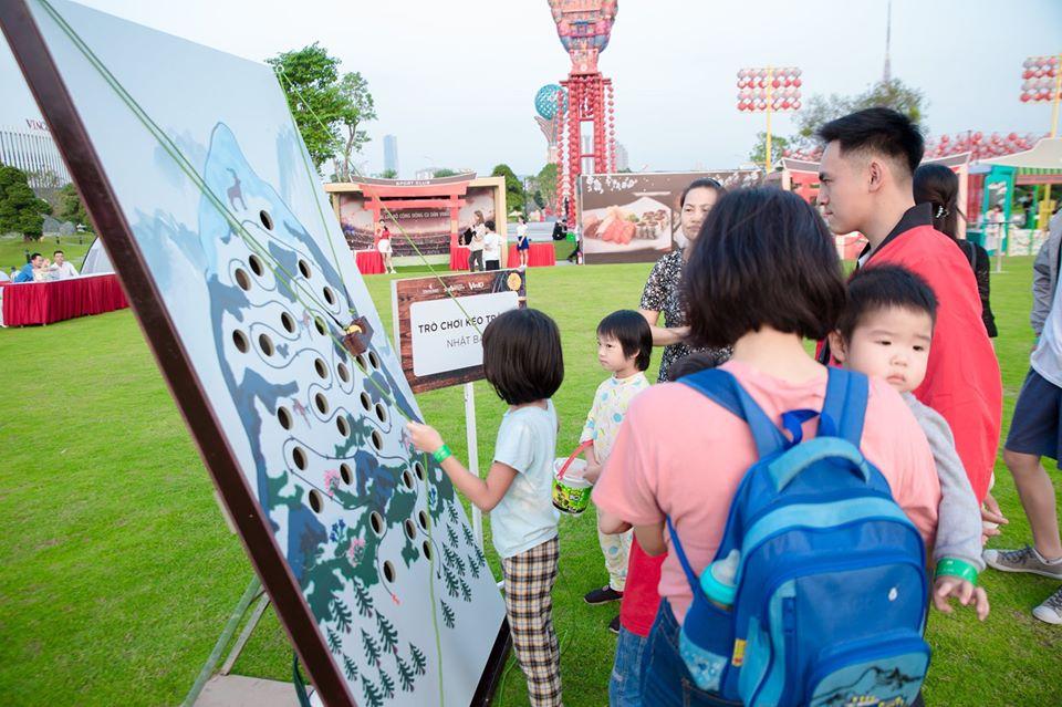 Hoạt động thể thao tại Vườn Nhật Vinhomes Smart City