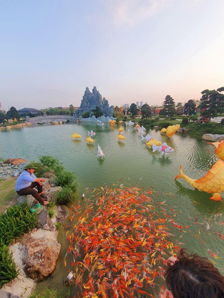 Không gian ẩm thực Việt Nam tại vinhomes smart city