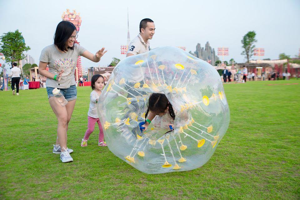 Hoạt động thể thao tại Vườn Nhật Bản