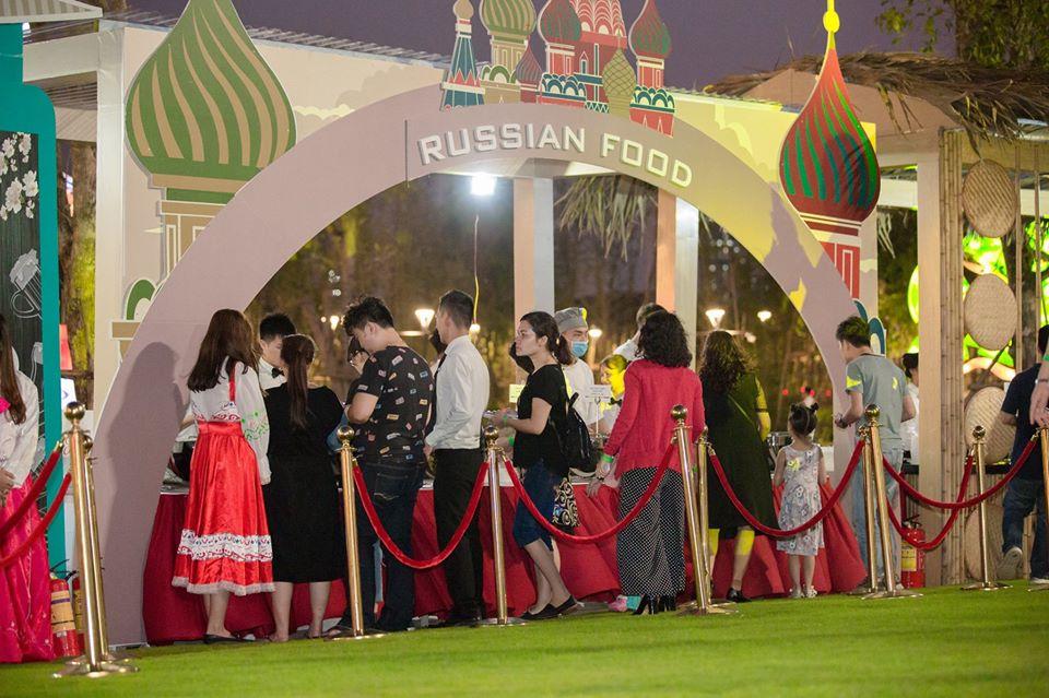 Ẩm thực Nga tại vinhomes smart city