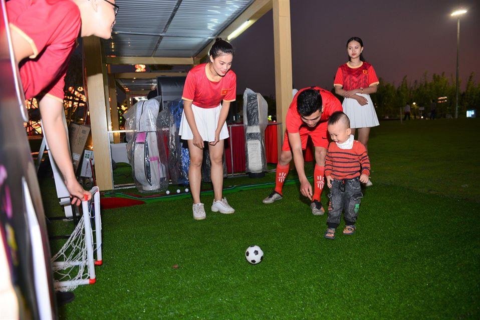Hoạt động thể thao tại vườn Nhật Bản Vinhomes Smart City