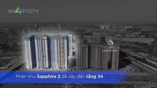 Phân khu Sapphire 2 đã xây đến tầng 34