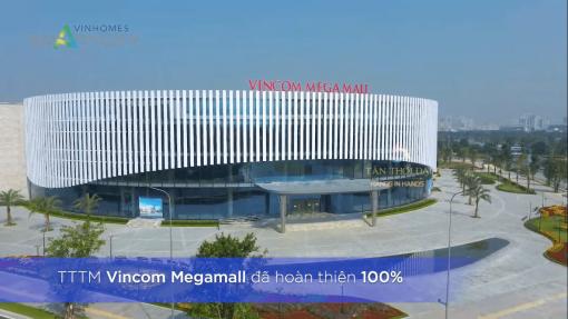 Vincom Megamall đã hoàn thiện