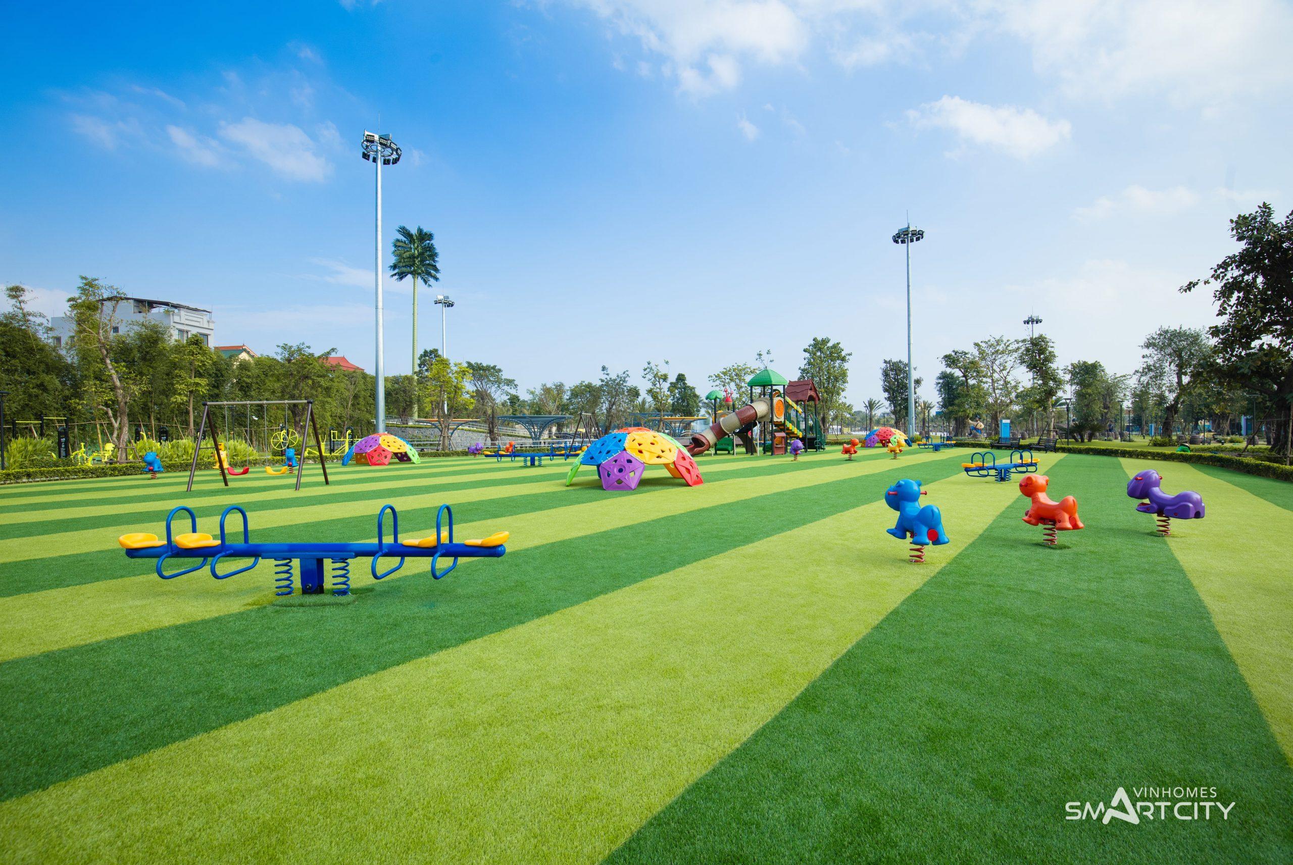 Khu vui chơi trẻ em tại Vinhomes Smart City