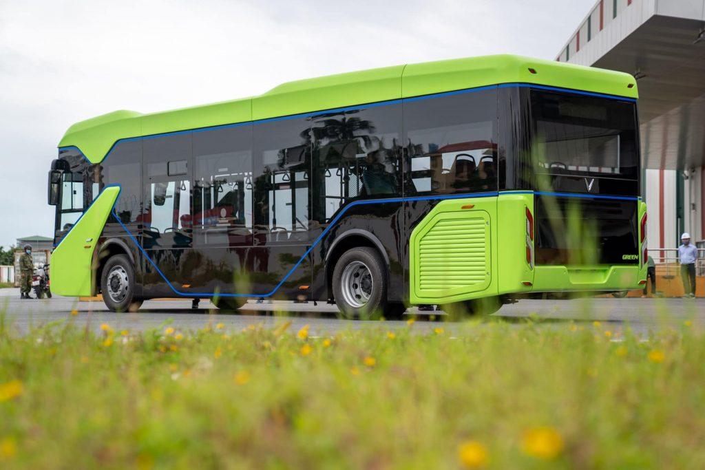 Mẫu xe Vinbus điện của tập đoàn Vingroup vừa được ra mắt