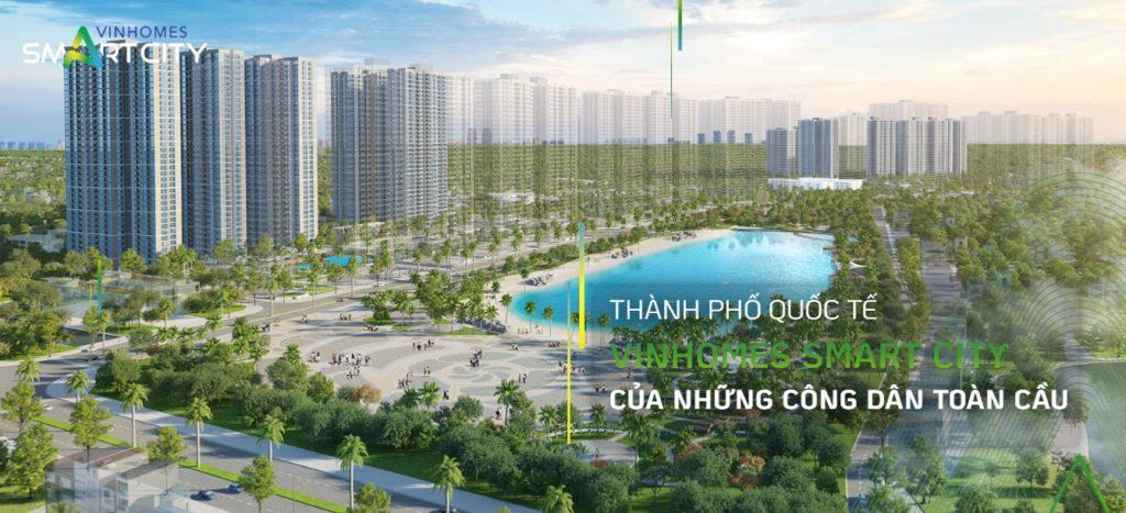 Không gian xanh đáng mơ ước tại Vinhomes Smart City