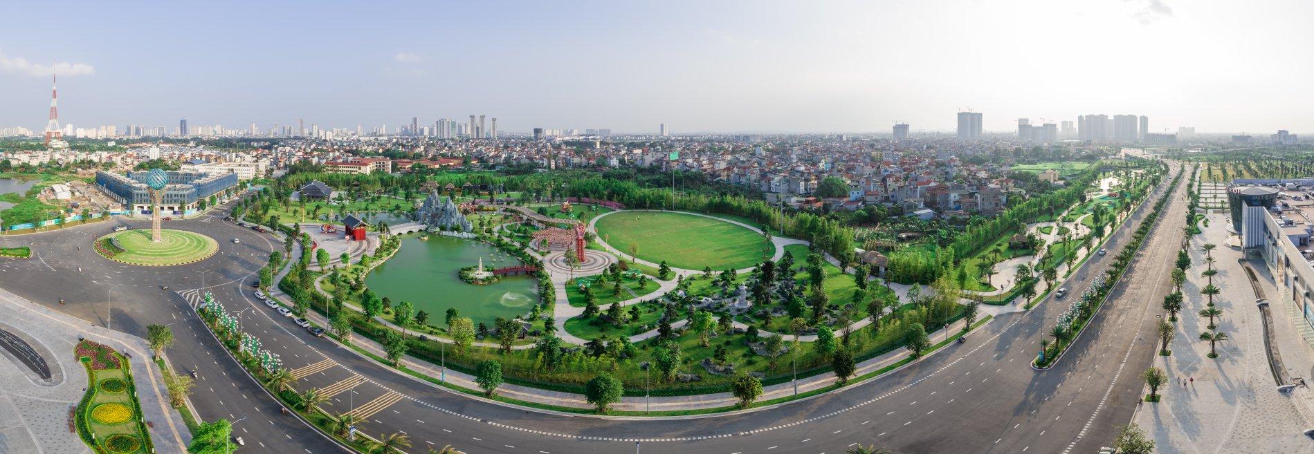 Vườn Nhật đẳng cấp Vinhomes Smart City