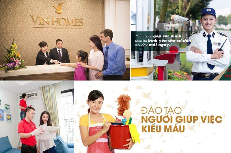 dịch vụ đạt thương hiệu 5 sao của Vinhomes